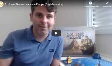 Explorers Game – Lauch in Europe